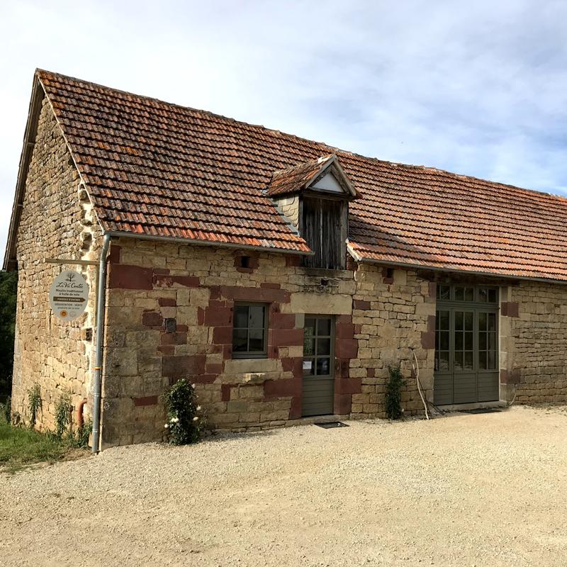 La Vie Contée - Moulin et patrimoine - La grange datant du XIXe siècle