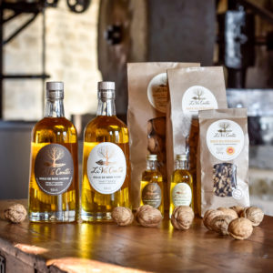 La Vie Contée - noix et huiles - Huile fruitée et huile mordorée
