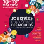 Le Moulin de la Vie Contée participe aux Journées européennes des Moulins les 18-19 mai 2019