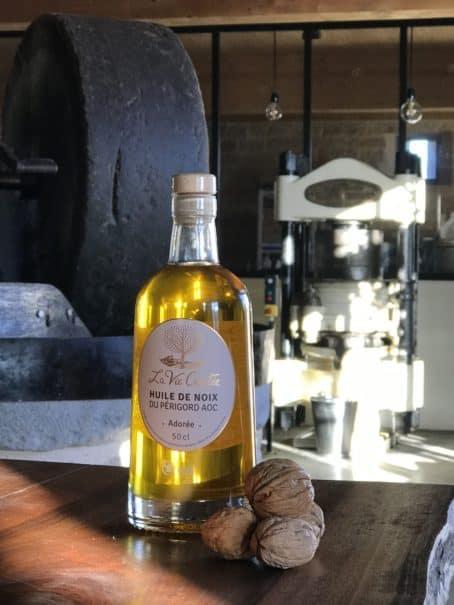 @cyrilleabonnel - huile de noix vierge monovariétale AOC adorée 50 cl
