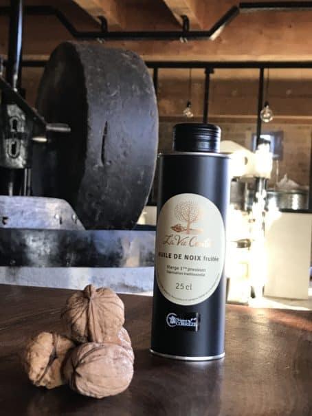@cyrilleabonnel - huile de noix vierge monovariétale fruitée 25 cl
