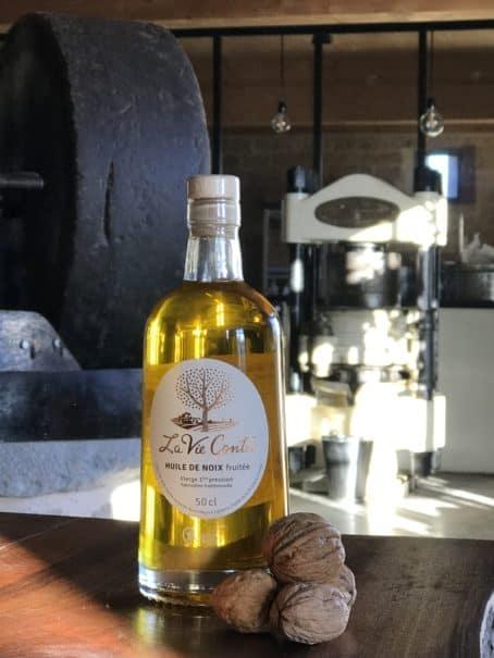 @cyrilleabonnel - huile de noix vierge monovariétale fruitée 50 cl