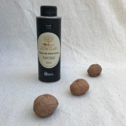 Huile de noix vierge monovariétale Corne fruitée – 25 cl